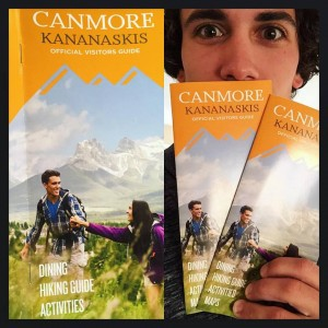 Travel Canmore Alberta Brochure